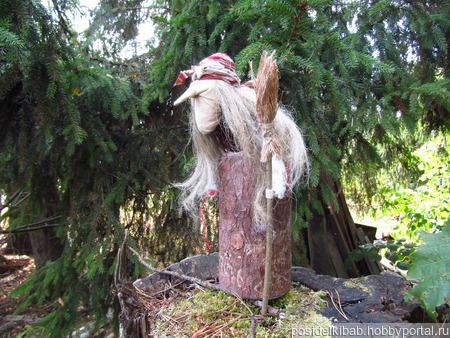 Народная кукла-оберег Баба Яга ручной работы на заказ