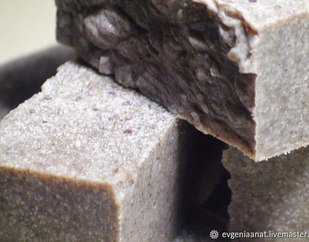 Соляное мыло-органик «Лаванда» ручной работы на заказ