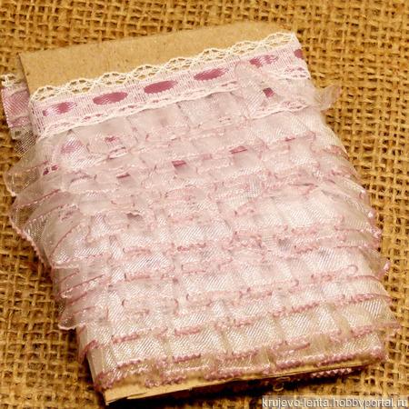 Набор для рукоделия (кружево, лента, органза) № 13 ручной работы на заказ