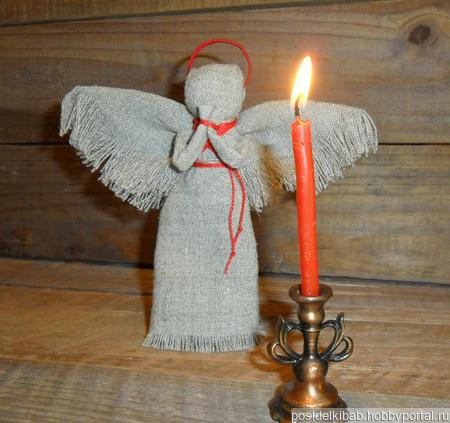 Деревенский ангел ручной работы на заказ