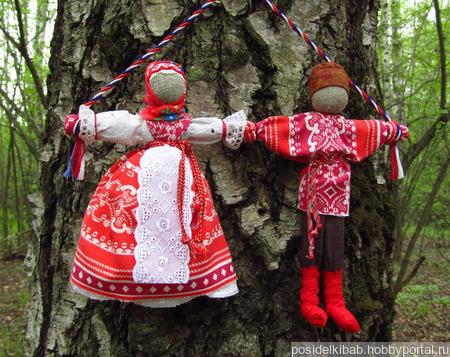 Свадебные народные куклы Неразлучники ручной работы на заказ