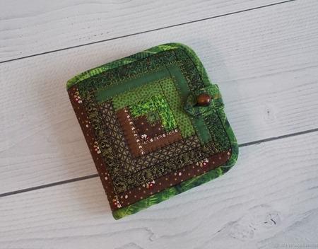 Лоскутный кошелёк ручной работы на заказ