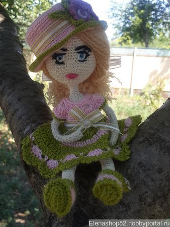 Куколка Иришка ручной работы на заказ