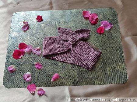Вязаные повязки на голову ручной работы на заказ