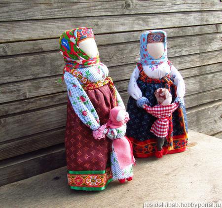 Народная кукла оберег Ведучка (Ведущая в жизнь) ручной работы на заказ