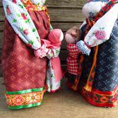 Народная кукла оберег Ведучка (Ведущая в жизнь)