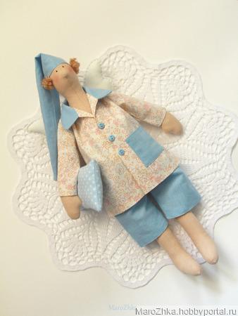 Сонный Ангел Тильда ручной работы на заказ