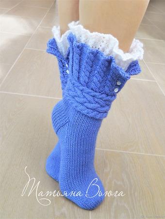 Мишель. Носки вязаные, шерстяные ручной работы на заказ