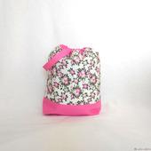 """Проектная сумка и органайзер для рукоделия """"Яблони в цвету"""""""