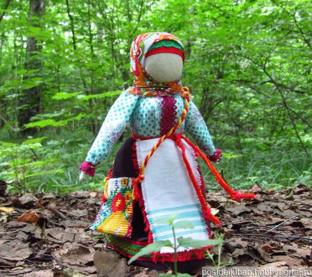 Народная кукла Успешница ручной работы на заказ
