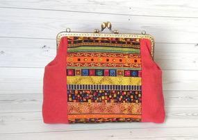 Сумочка на фермуаре «Марокко» ручной работы на заказ