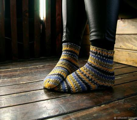 Женские носочки ручной работы на заказ