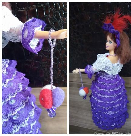Куколка-шкатулка ручной работы на заказ