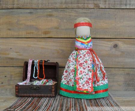"""Народная кукла на удачное замужество """"Семь воротничков"""" ручной работы на заказ"""