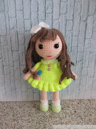 Куколка Эйприл ручной работы на заказ