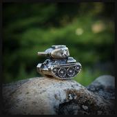 """Темлячная бусина """"Т-34"""" для ножа, латунь"""
