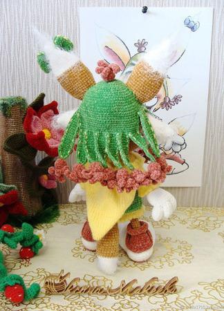 Интересная зверушка Мими ручной работы на заказ