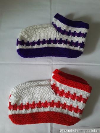 Тапочки-сапожки ручной работы на заказ