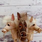 Лошадки на палочке