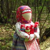 "Народная кукла оберег ""Плодородие"""
