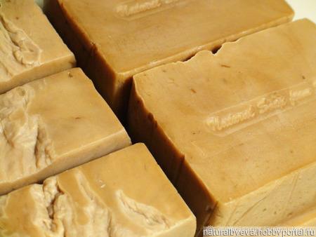 Дегтярное мыло ручной работы «Царский Желудь» ручной работы на заказ