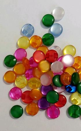 Пуговицы стеклянные разноцветные ручной работы на заказ