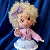 Кукла вязаная Шарлотта