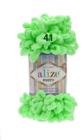 Плюшевая пряжа Alize puffy ручной работы на заказ
