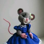 Мышка вязаная