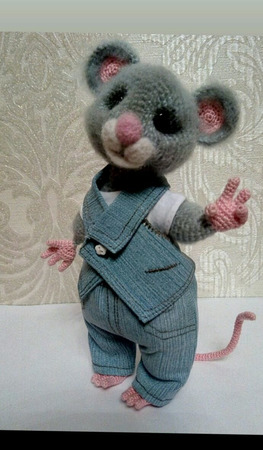 Мастер-класс мышки ручной работы на заказ