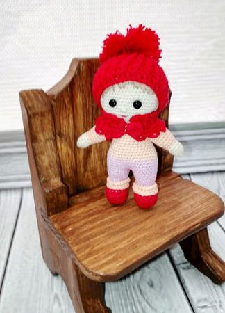 Кукла крючком ручной работы на заказ