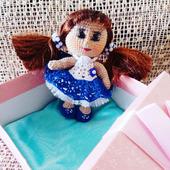 Кукла крючком Василина