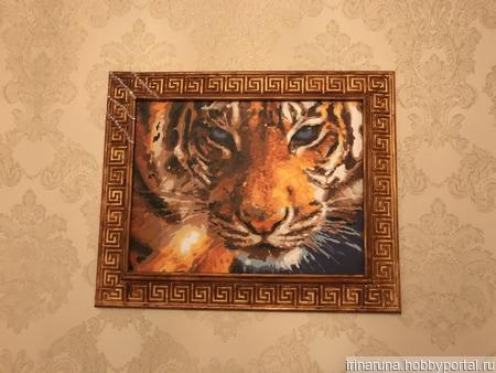 "Оберег ""Тигр"" ручной работы на заказ"