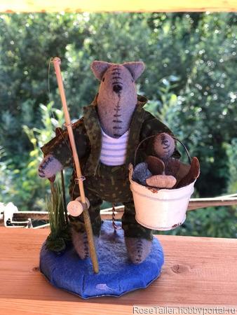 Интерьерные игрушки - милые зверюшки ручной работы на заказ