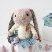 "Мастер-класс ""Милый розовый кролик """