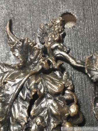 Ангел-хранитель на виноградной лозе ручной работы на заказ