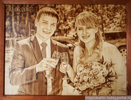 Портреты и картины выжженные на дереве на заказ ручной работы на заказ