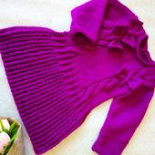 Платье вязаное для девочки
