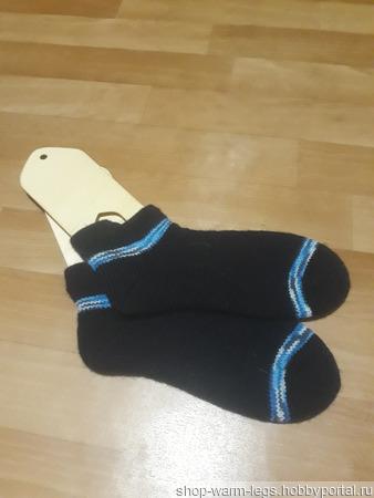 Короткие носки ручной работы на заказ