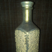 Бутылка интерьерная