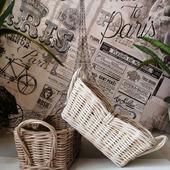 Плетеная корзинка для хлеба