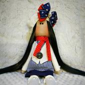 Интерьерная куколка-морячка