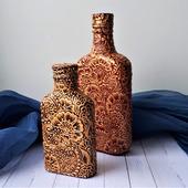 Бутылка декоративная Мехенди 2