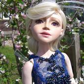 Шарнирная кукла Элин