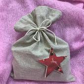 Мешочек для сладких новогодних подарков
