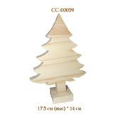 059 Елка. Новогодние деревянные заготовки