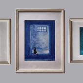 """Триптих - три картины """"Три времени жизни"""""""