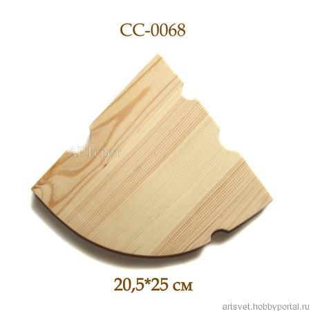 068 Сырная доска. Деревянные заготовки ручной работы на заказ