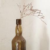 Бутылка стеклянная коричнево-оливковая ISLA 1816