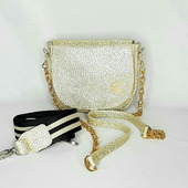 Кожаная миниатюрная сумочка